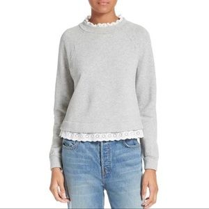 ✨Rebecca Taylor La Vie French Terry Sweatshirt✨